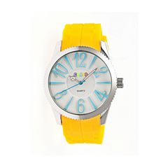 Crayo Womens Magnificent Yellow Strap Watch CRACR2903