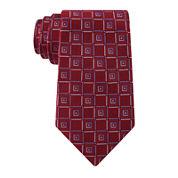Stafford® Lakeside Geo Silk Tie