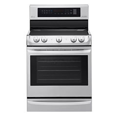 LG 6.3 cu. ft Capacity  Electric Single Oven Range with ProBake Convection™ and EasyClean®