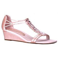 New York Transit Kindred Spirit Womens Wedge Sandals
