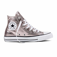 Converse Chuck Taylor All Star High-Top Metallic Sneakers-- Unisex Sizing Womens Sneakers