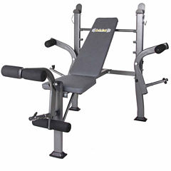 Body Flex Butterfly Stand Weight Bench