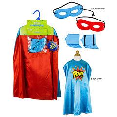 Superhero Boy Blue Cape Kit