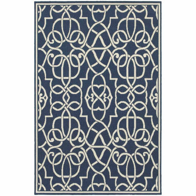 Covington Home Marathon Scrollwork Rectangular Rugs