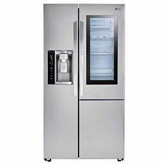 LG Super Capacity 26.1 cu.ft. Side-By-Side Refrigerator with InstaView™ Door-in-Door®