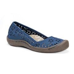 Muk Luks Sandy Womens Slip-On Shoes