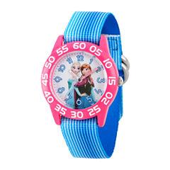 Disney Girls Blue Strap Watches