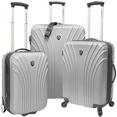 Traveler's Choice® 3-Piece Hardsided Ultra Lightweight Luggage Set
