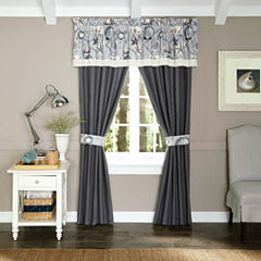 Croscill Classics® Sandy Cove 2-pk. Rod-Pocket Curtain Panels