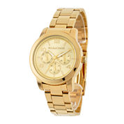 Personalized Dial Gold-Tone Stainless Steel Watch