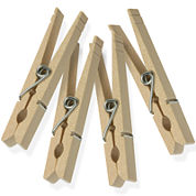 Honey-Can-Do® 200-Pack Wood Clothespins