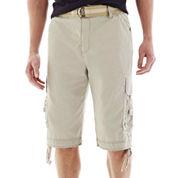 Plugg® Mini-Ripstop Messenger Cargo Shorts