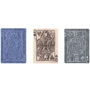 Sizzix® Texture Fades Embossing Folders by Tim Holtz® 3-pk.Poker Face