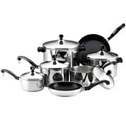 Farberware® Classic Series 15-pc. Stainless Steel Cookware Set