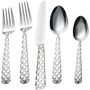 Bombay Tufted 20-pc. Stainless Steel Flatware Set