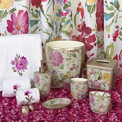 Watercolor Floral Bath Collection