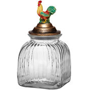 Pfaltzgraff® Rooster Meadow Medium Glass Canister