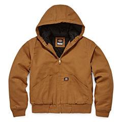 Dickies® Sanded Duck Hooded Zip Jacket - Boys 8-20