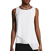 Bisou Bisou® Asymmetrical Tank Top
