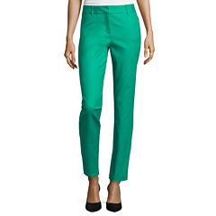 Liz Claiborne® Classic Emma Ankle Pants - Tall