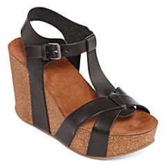 Mia Girl Akron Womens Wedge Sandals