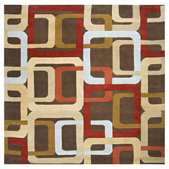 Decor 140 Garsnas Hand Tufted Square Rugs