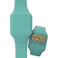 Dakota Fusion Kids Mini Hidden LED Watch, Teal 52508