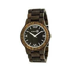 Earth Wood Bighorn Dark Brown Bracelet Watch ETHEW3502
