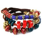 Aris by Treska 3-Row Bracelet