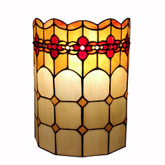 Amora Lighting™ Tiffany Style Geometric Wall Sconce