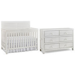 Tiamo Castello 2-PC Baby Furniture Set- Seashell