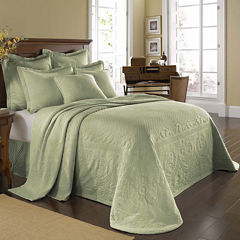 Historic Charleston Collection™ King Charles Matelassé Bedspread & Accessories