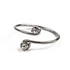Arizona Womens 2-pc. Clear Jewelry Set