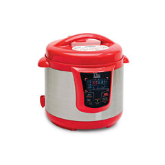 Elite Platinum EPC-808R 8-Quart Digital Pressure Cooker with 13 Functions