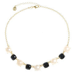 Monet Jewelry Womens Multi Color Collar Necklace