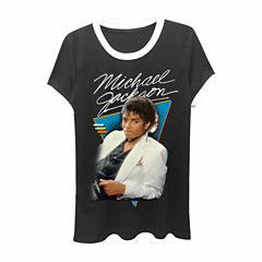 Michael Jackson Graphic T-Shirt- Juniors