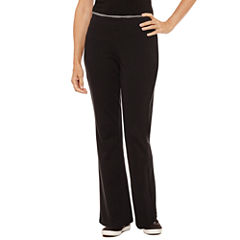 Silverwear Knit Workout Pants Petites