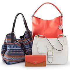 Liz Claiborne® Tribal Handbag and Wallet Collection