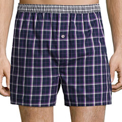 Stafford® Woven Cotton Boxers - Big & Tall
