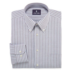 Stafford® Long-Sleeve Travel Wrinkle-Free Oxford Dress Shirt - Big & Tall