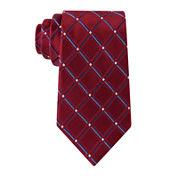 Stafford® Lakeside Grid Silk Tie