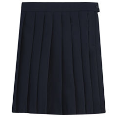 French Toast Pleated Skirt Woven Pleated Skirt - Preschool Girls