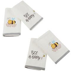 Buzzin Bee Cotton 4-pc. Bath Towel Set