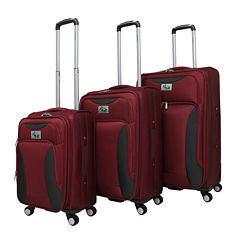 Chariot Travelware Bari 3-pc. Luggage Set