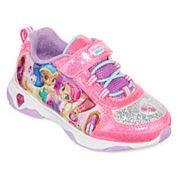 Nickelodeon™ Shimmer and Shine Girls Athletic Light-Up Sneakers - Toddler