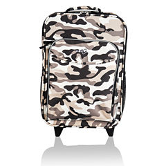 Obersee® Kids Camo Luggage with Integrated Cooler
