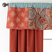 JCPenney Home™ Morocco Rod-Pocket/Back-Tab Lined Curtain Panels
