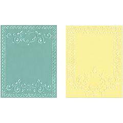 Sizzix® Textured Impressions™ 2-pk. Embossing Folders, Ornate Frames