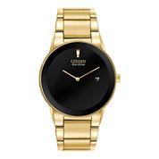 Citizen® Eco-Drive® Axiom Mens Gold-Tone Watch AU1062-56E