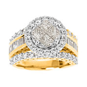 Harmony Eternally in Love 3 CT. T.W. Certified Diamond 14K Gold Bridal Ring